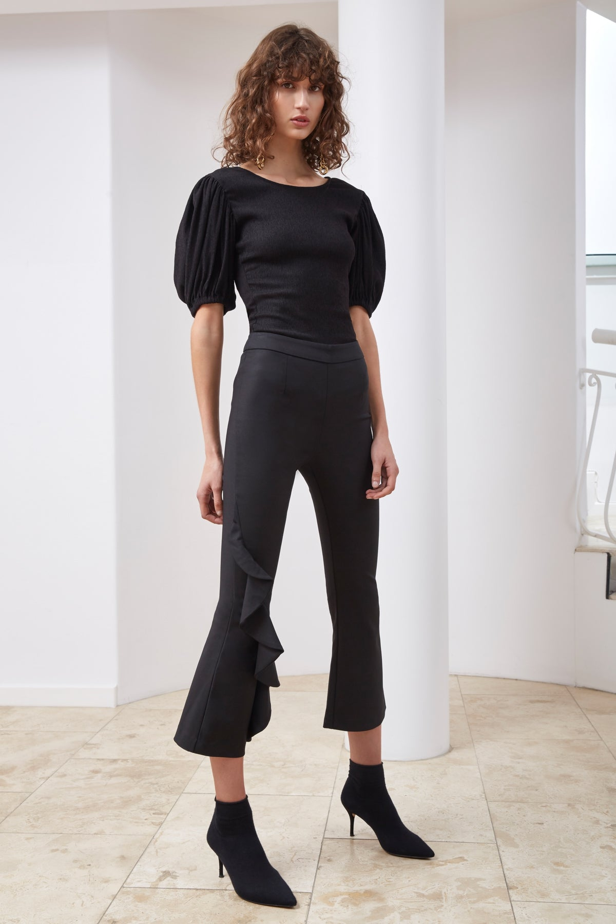 SWEET STEP PANT black