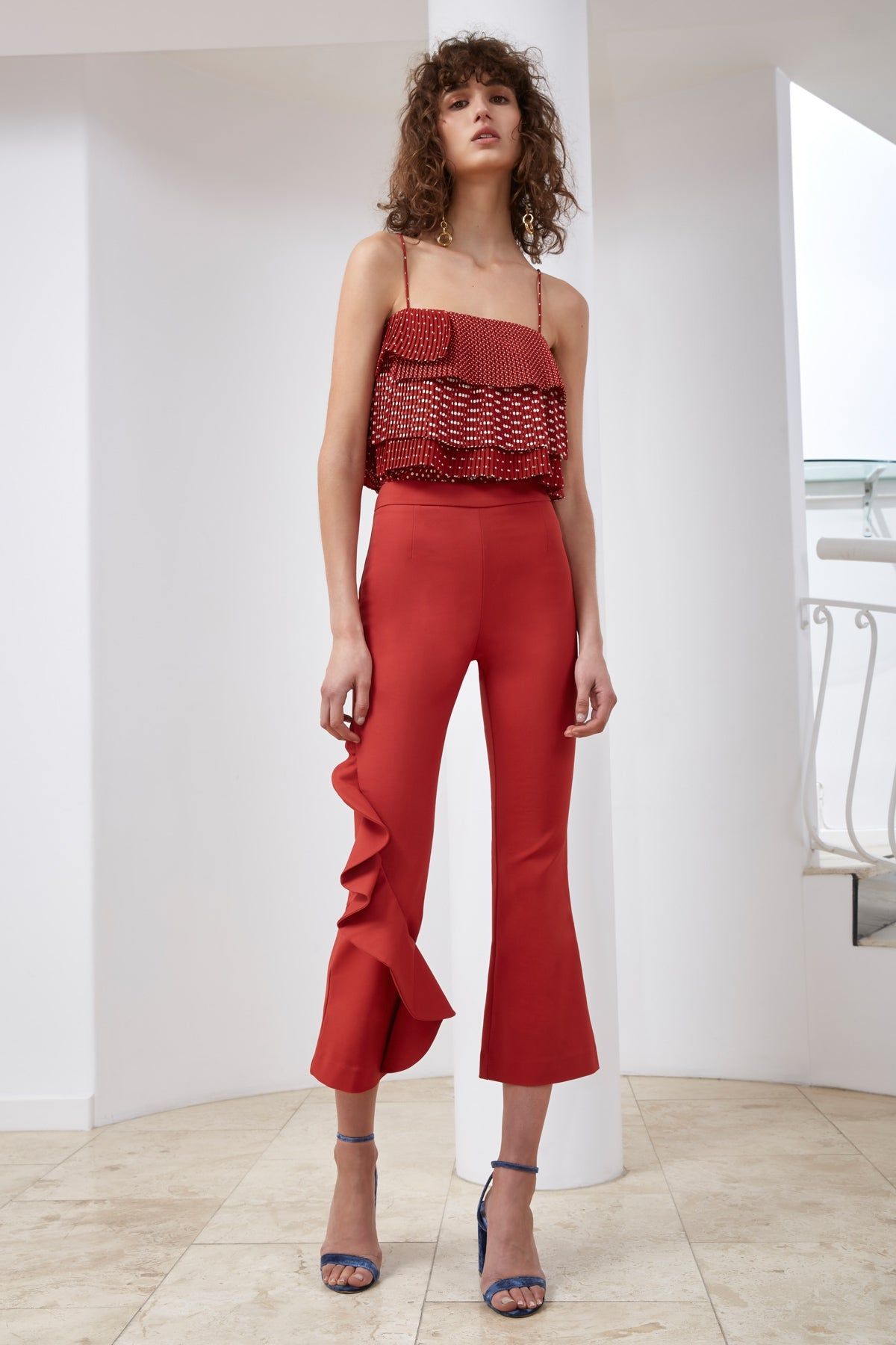SWEET STEP PANT red