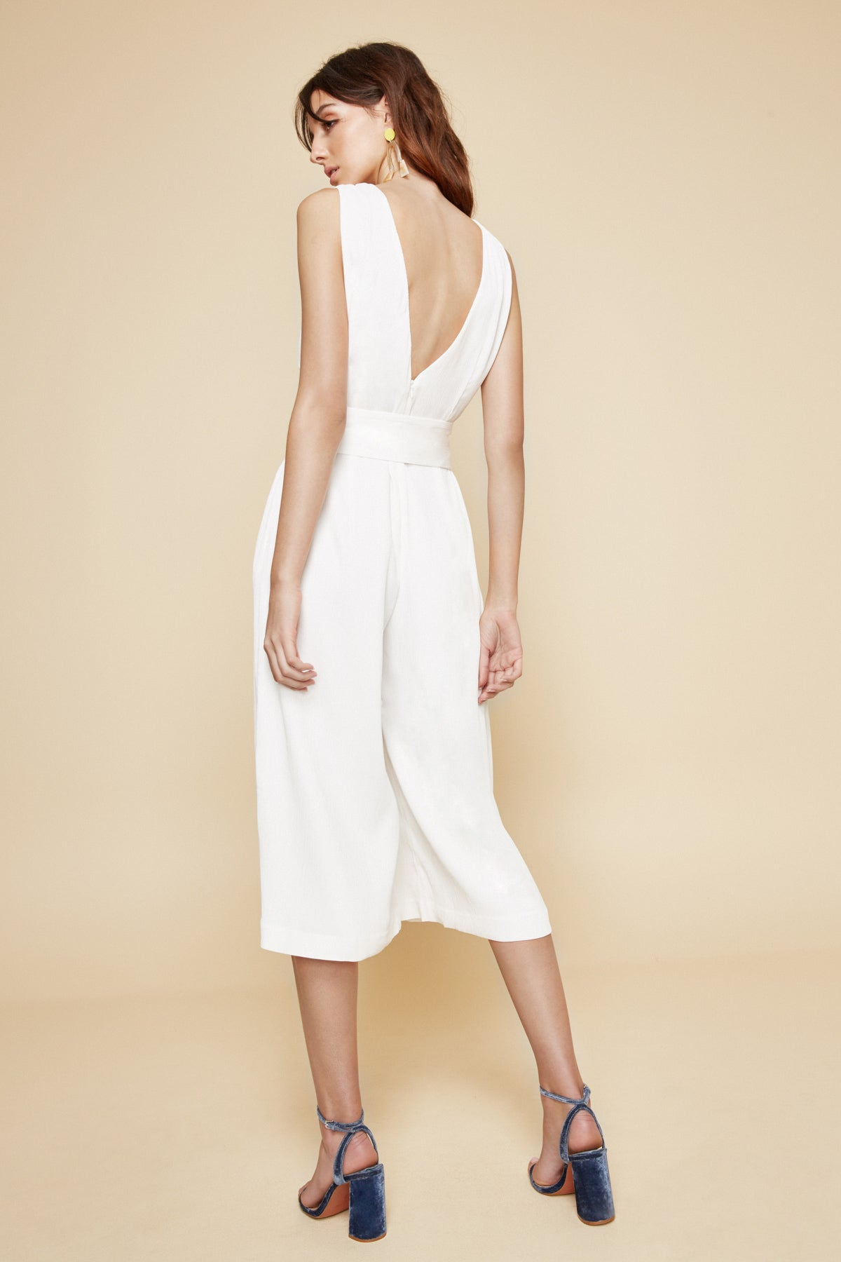 DREAM CLOUD JUMPSUIT ivory