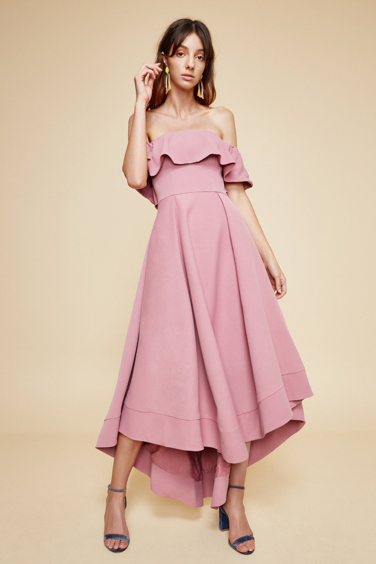 TEMPTATION GOWN mulberry