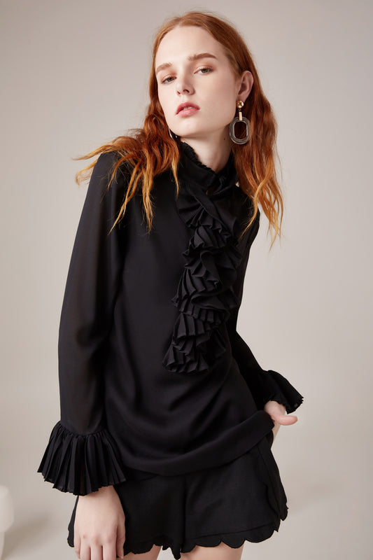 BIG PICTURE SHIRT black