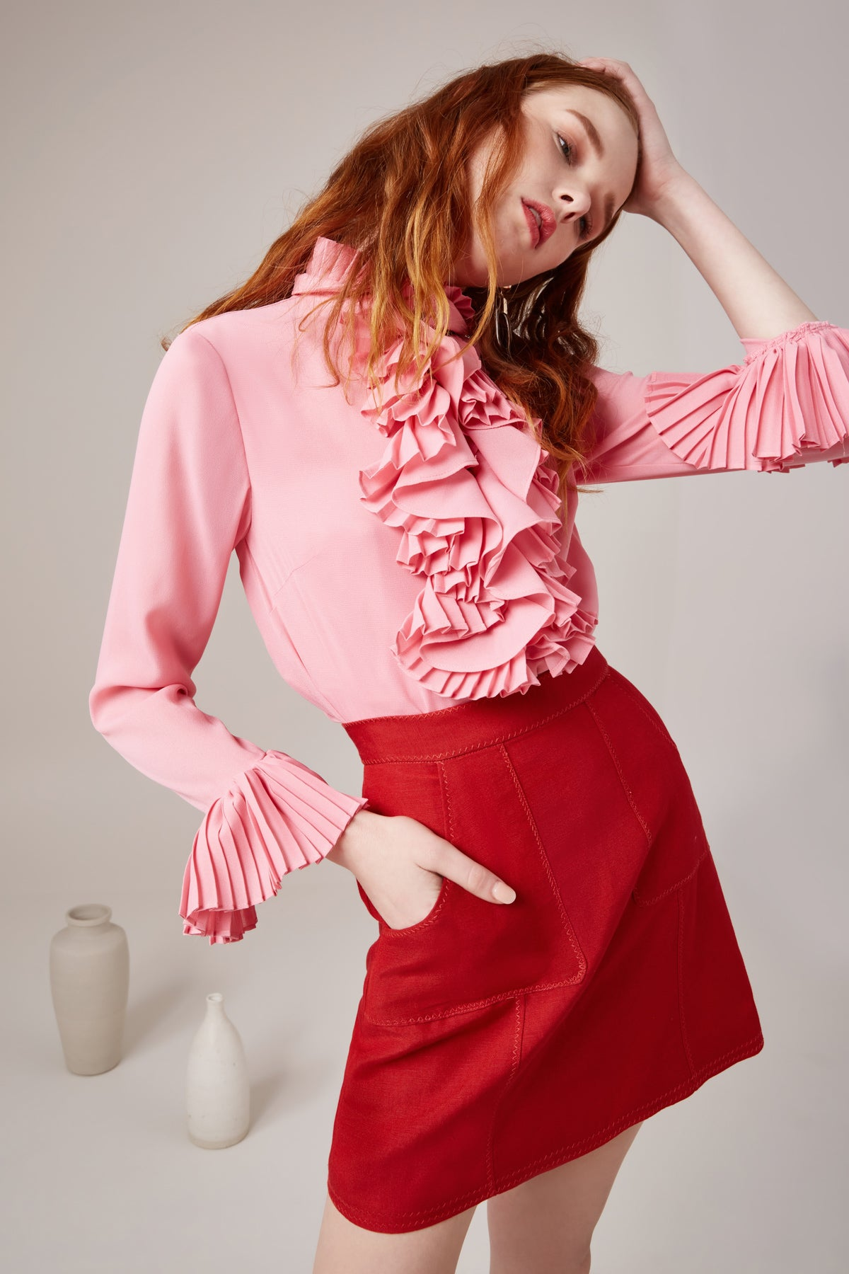 BIG PICTURE SHIRT pink