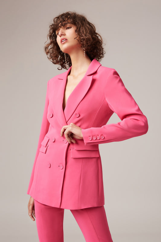 OWN LIGHT BLAZER magenta