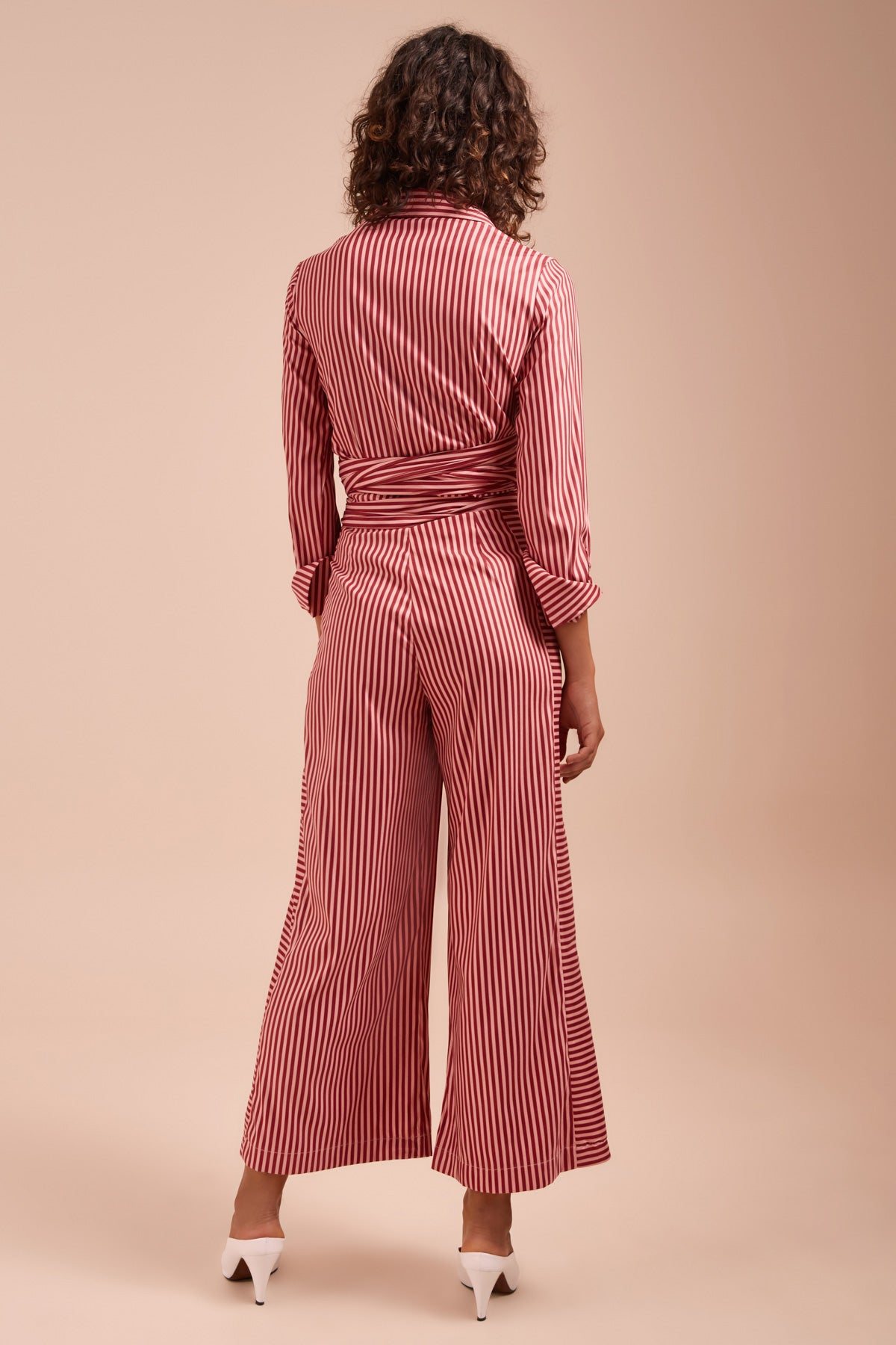 BELIEVE IN ME PANT berry stripe