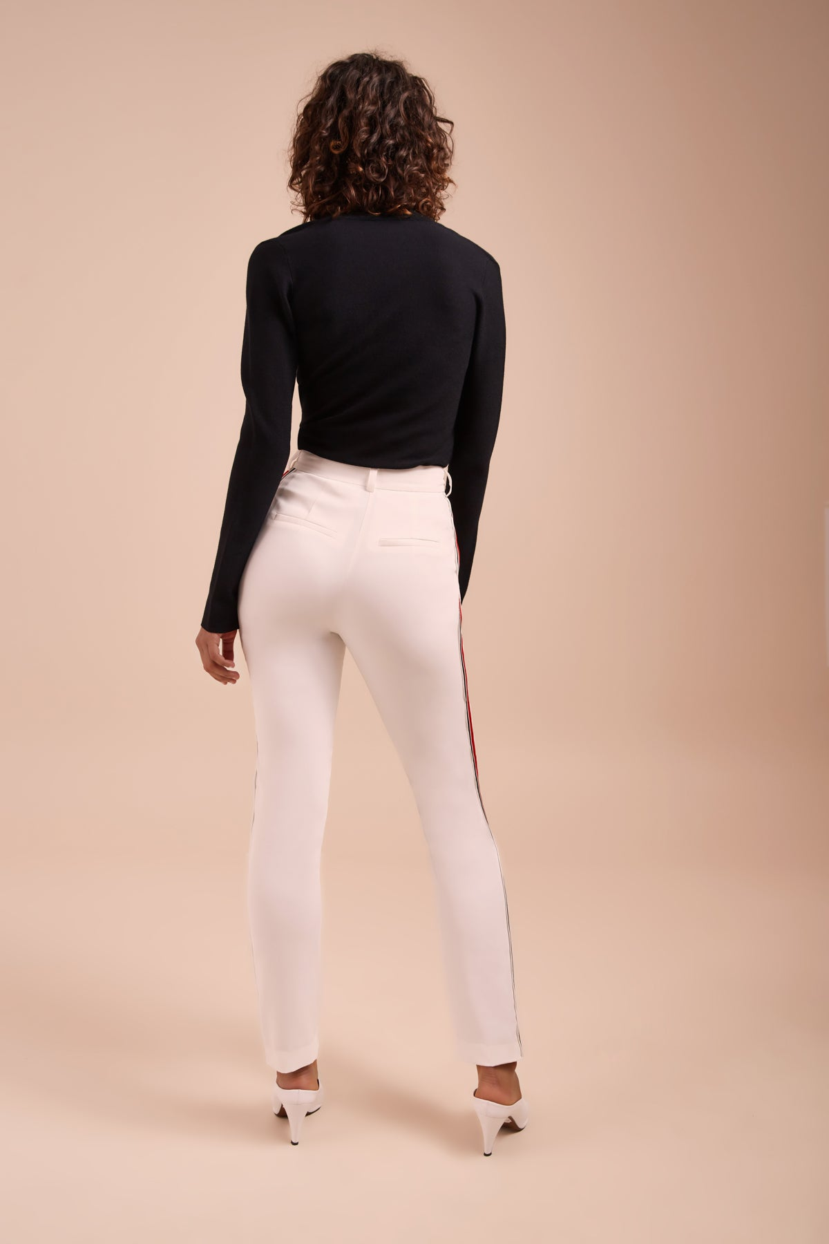 BE MOVED PANT ivory