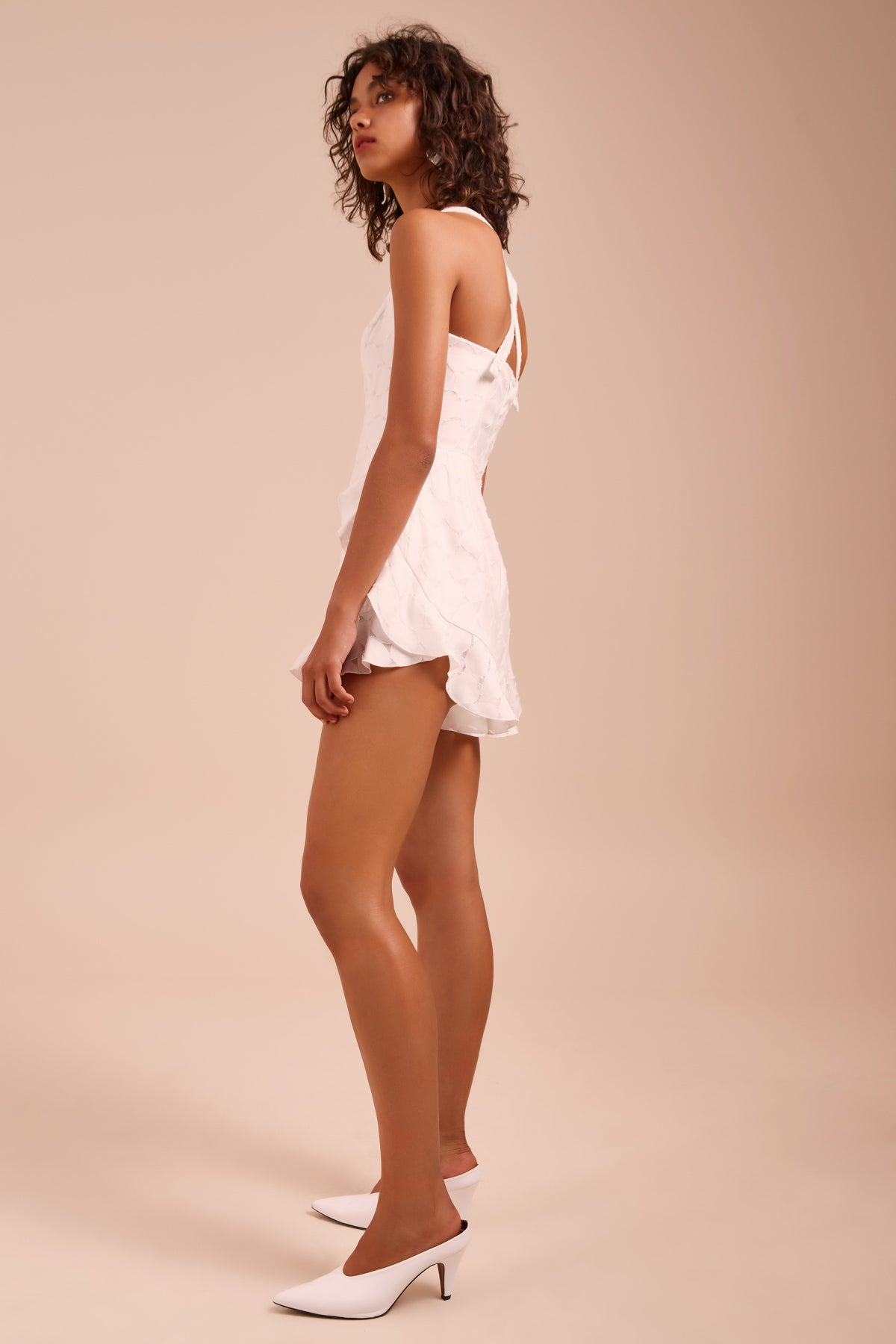 MAGNETISE PLAYSUIT ivory