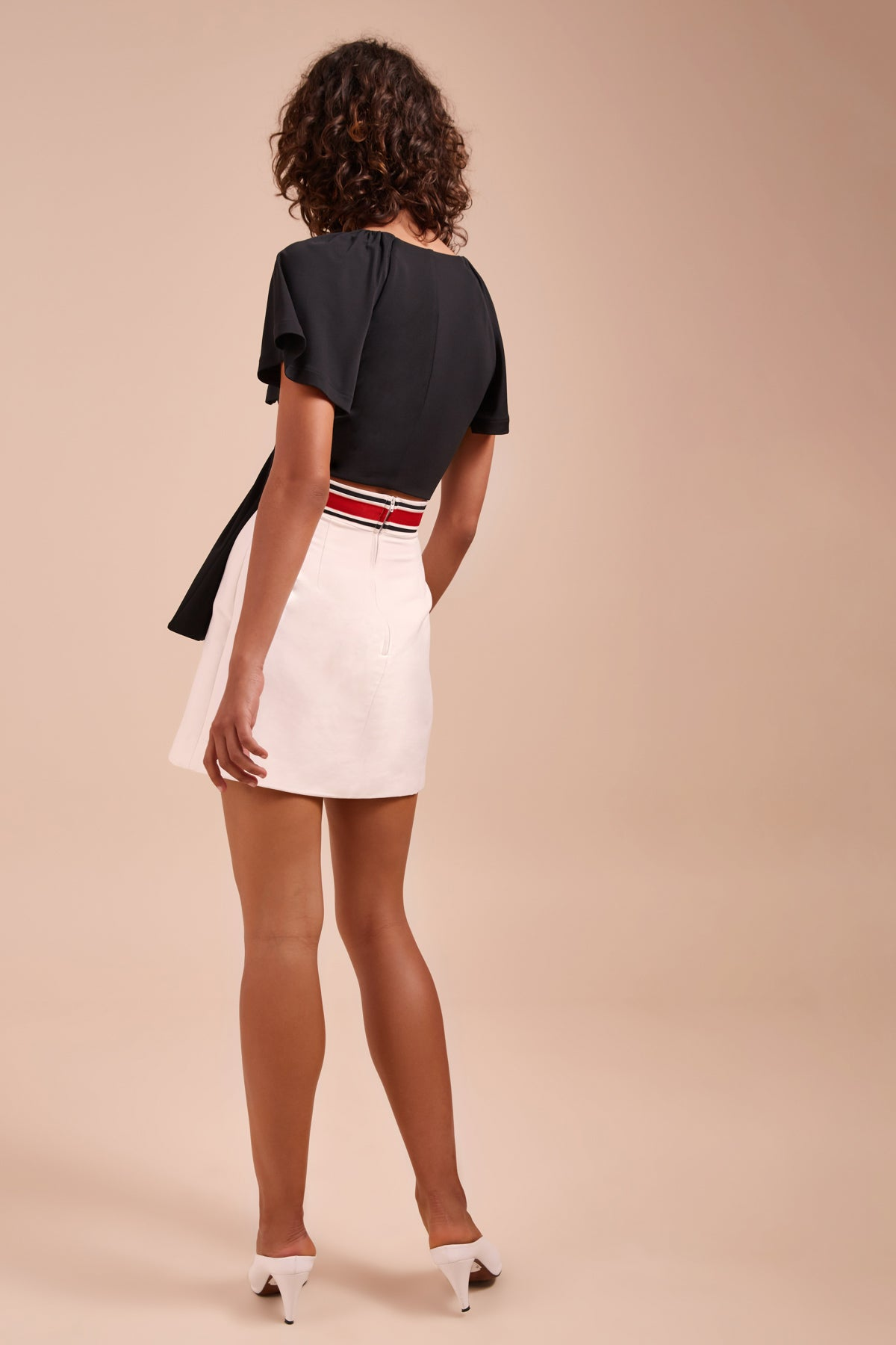 TOTALITY SKIRT ivory