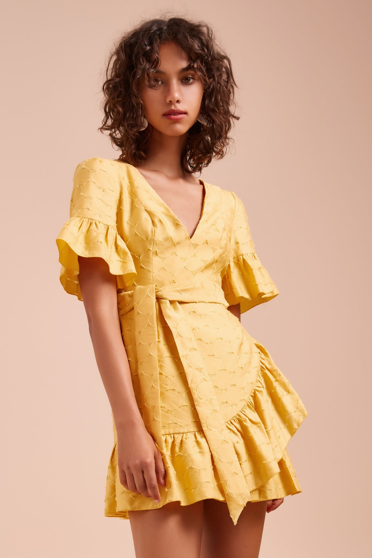 MAGNETISE DRESS honey