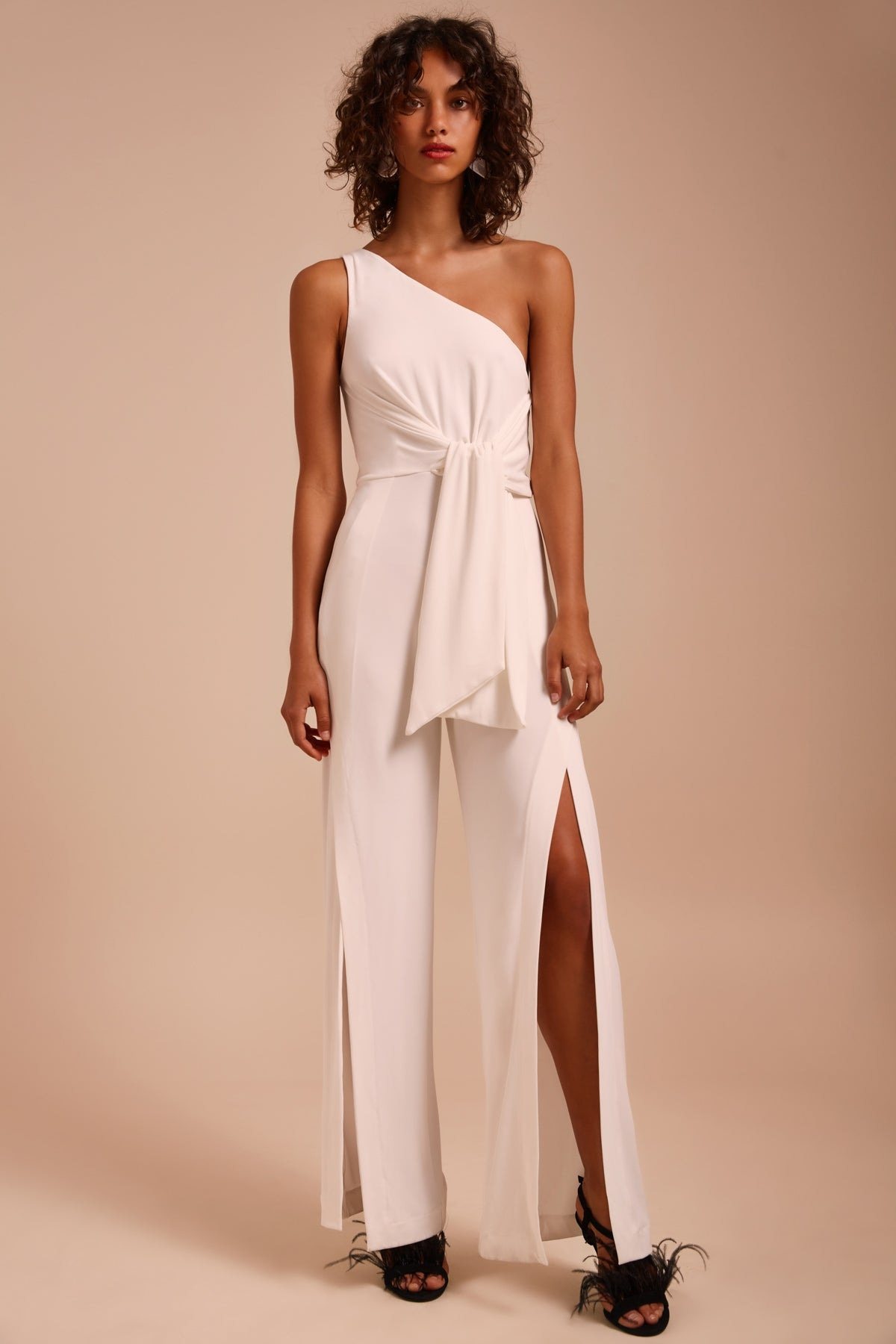 RECOLLECT JUMPSUIT ivory
