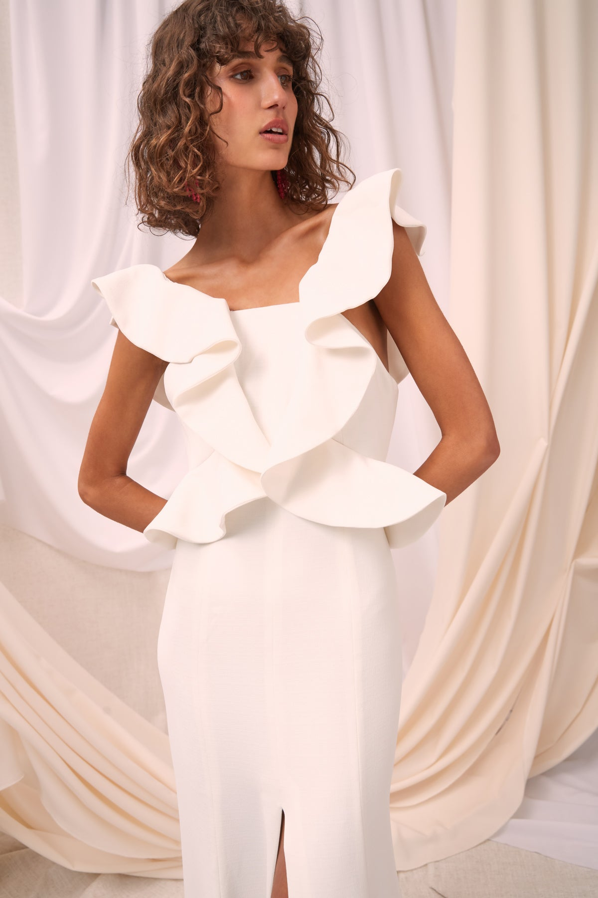 ELATION GOWN ivory