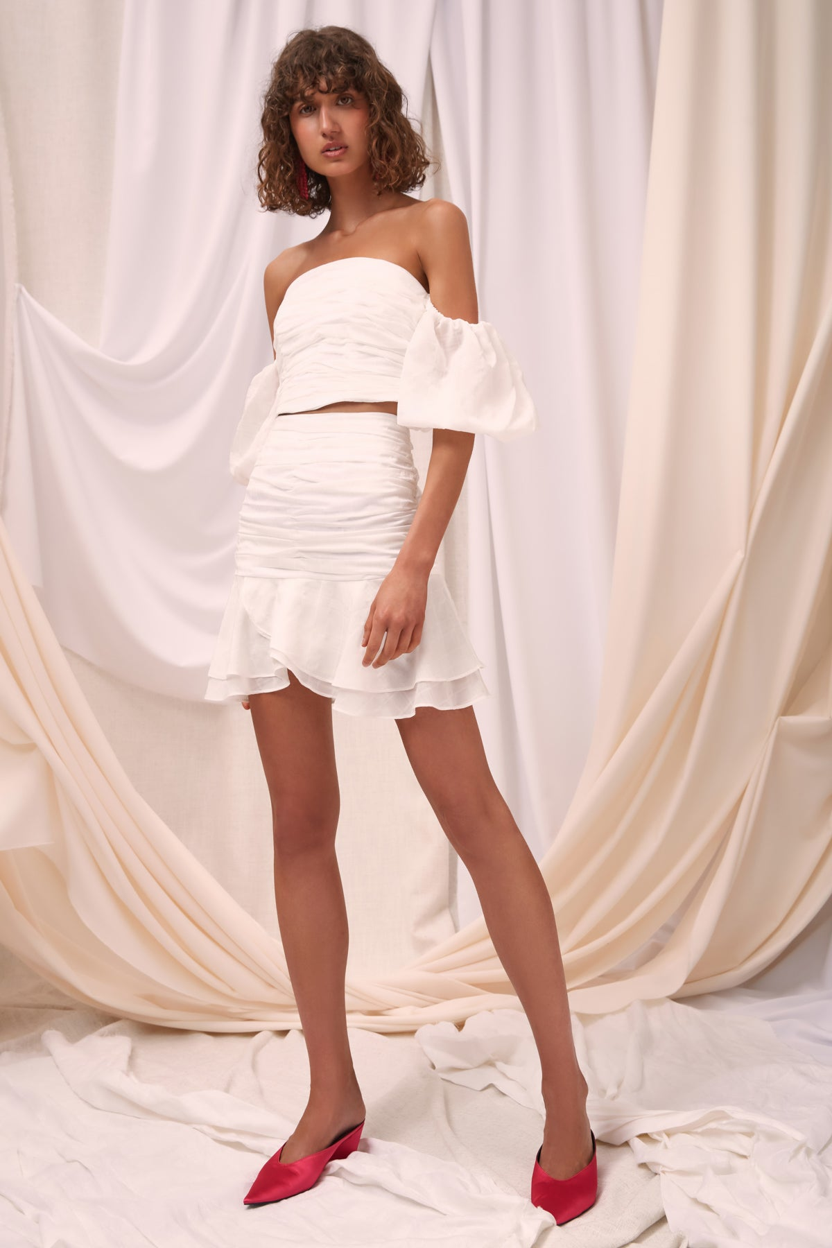 SOLACE SKIRT ivory