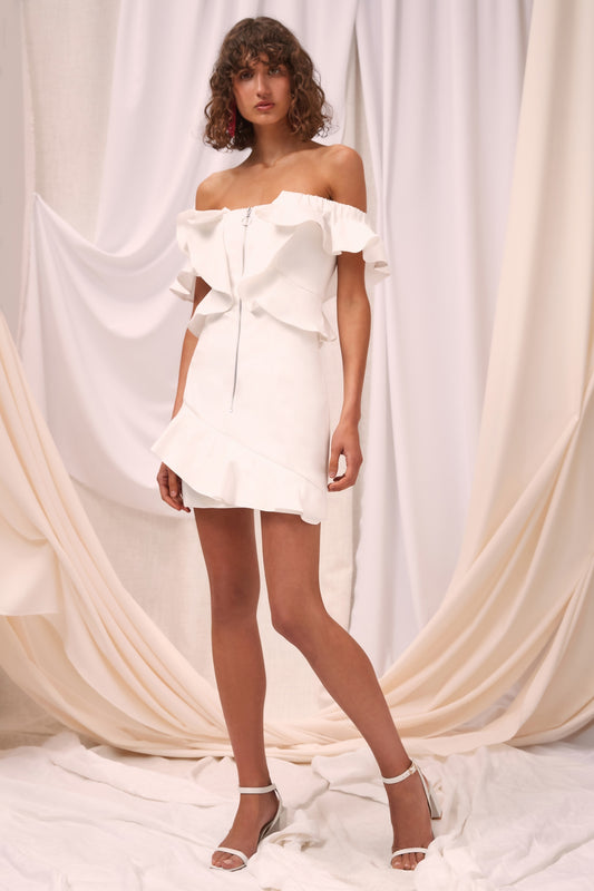 ELATION DRESS ivory