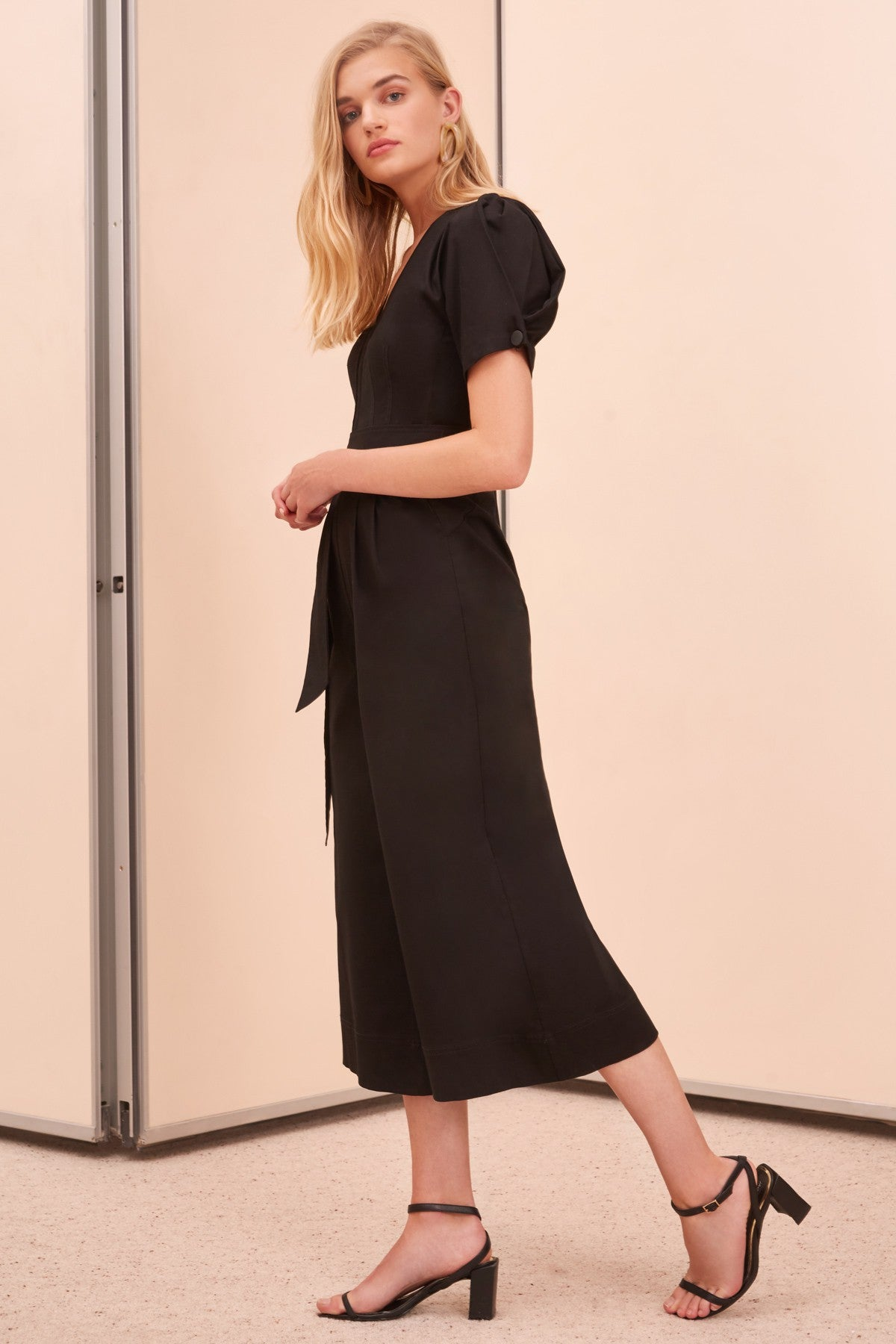 ADEPT JUMPSUIT black