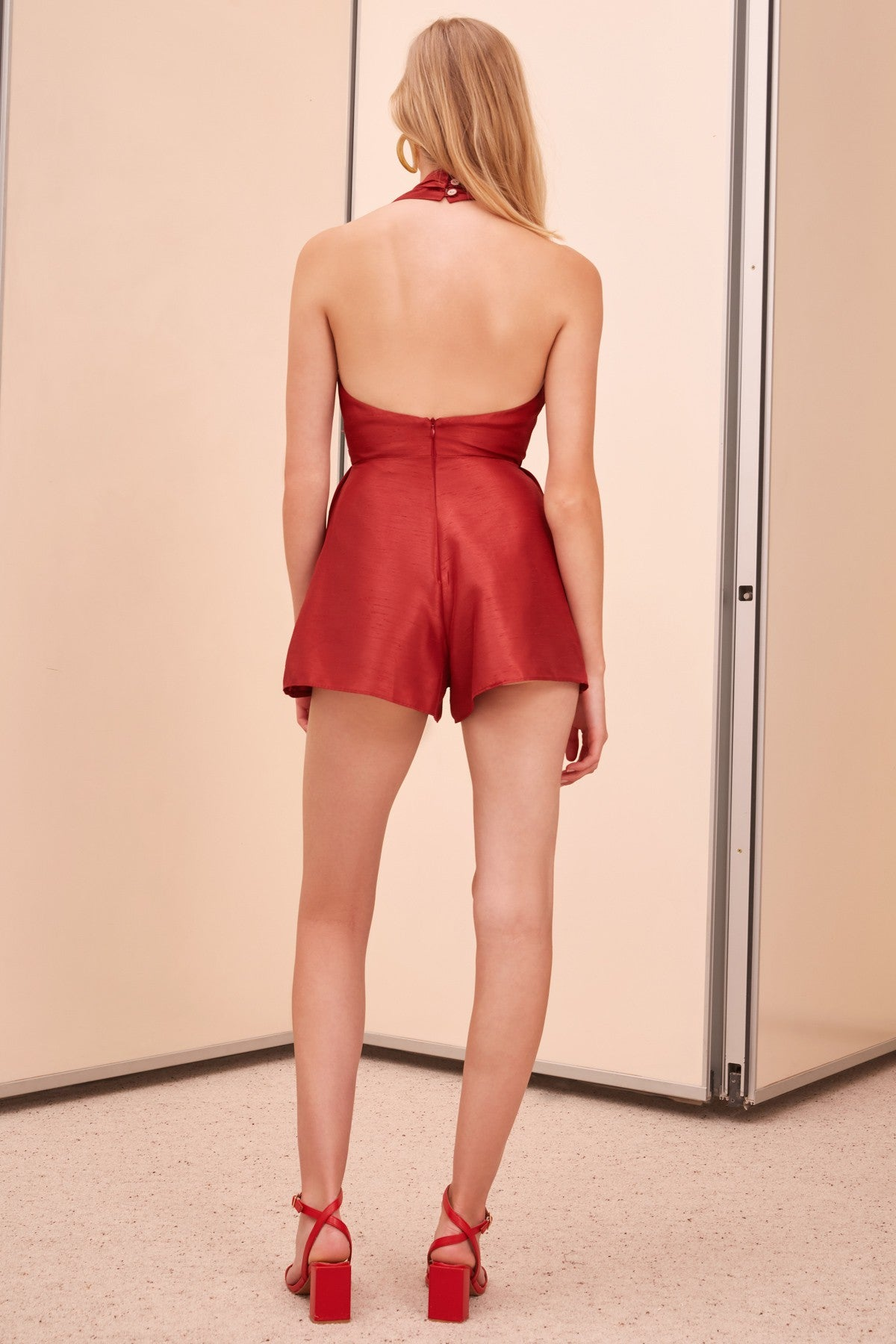 METHODICAL PLAYSUIT ruby