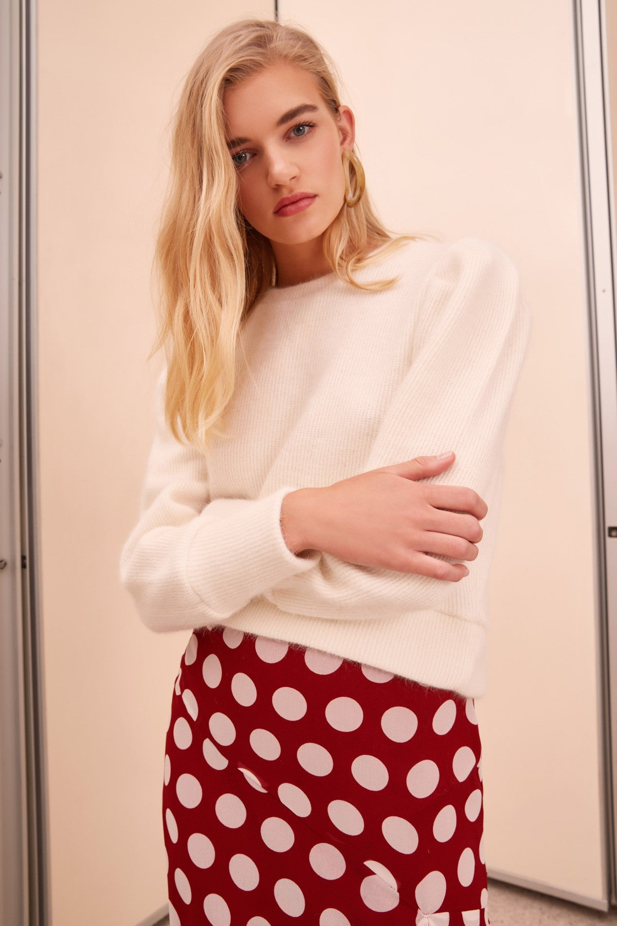 THE LINE SWEATER ivory