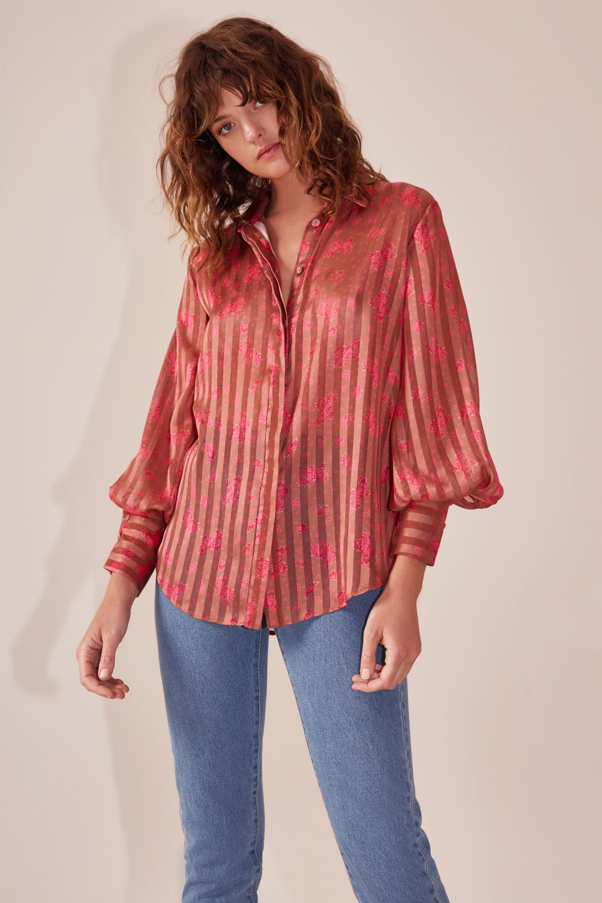 SIGNIFICANT SHIRT copper rose