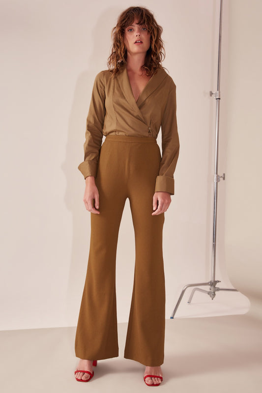 MIDDLE GROUND PANT taupe