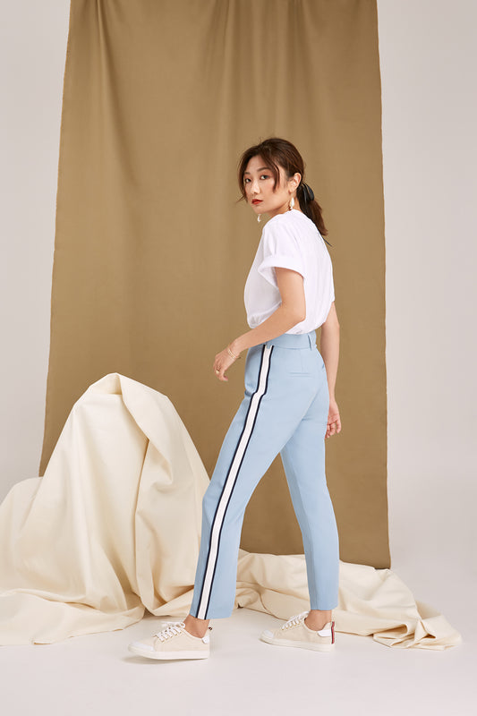 OVERNIGHT PANT dusty blue