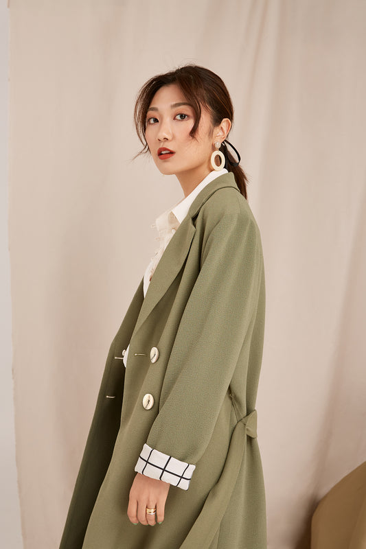 LIGHT OF DAY COAT khaki