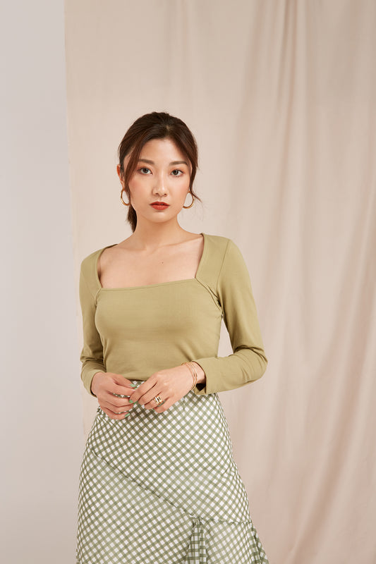 CLARITY TOP olive