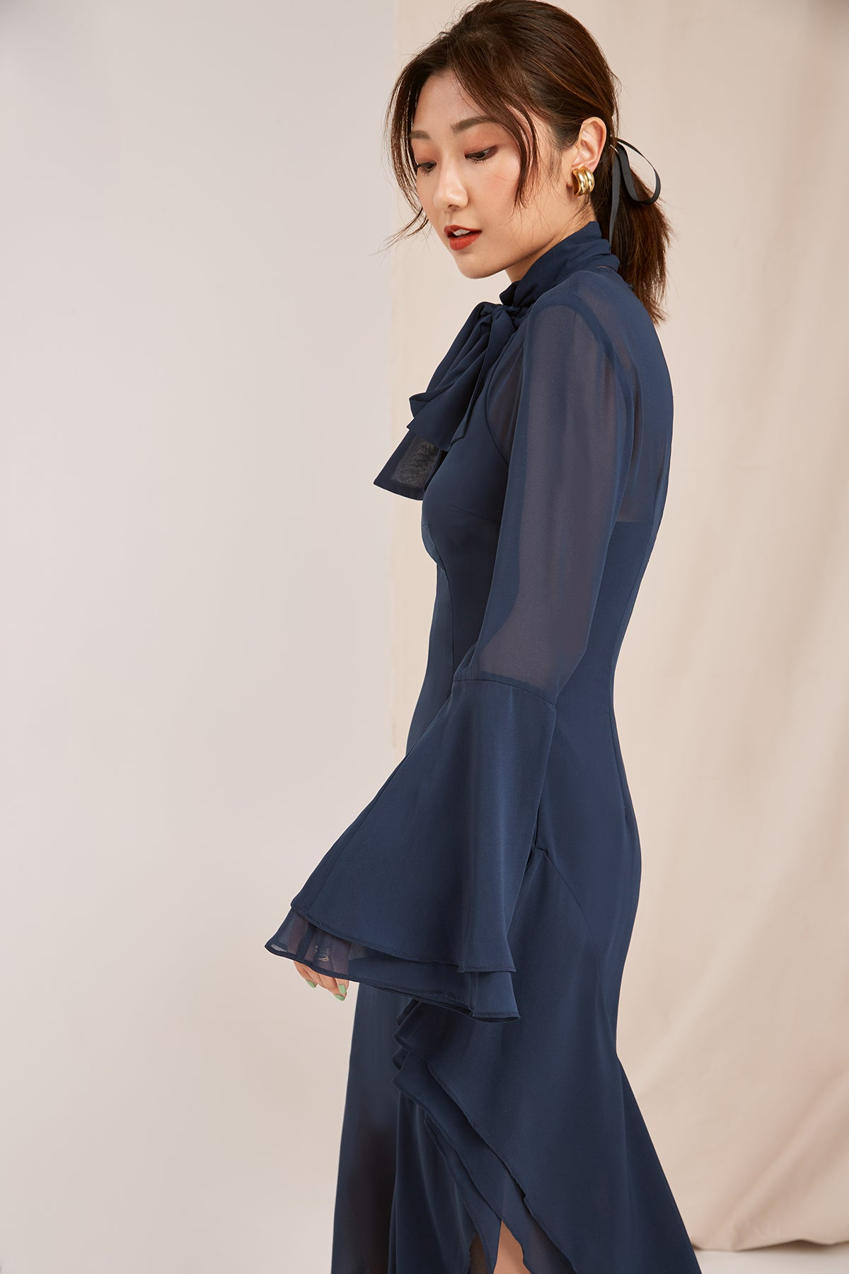 NIGHTFALL DRESS navy