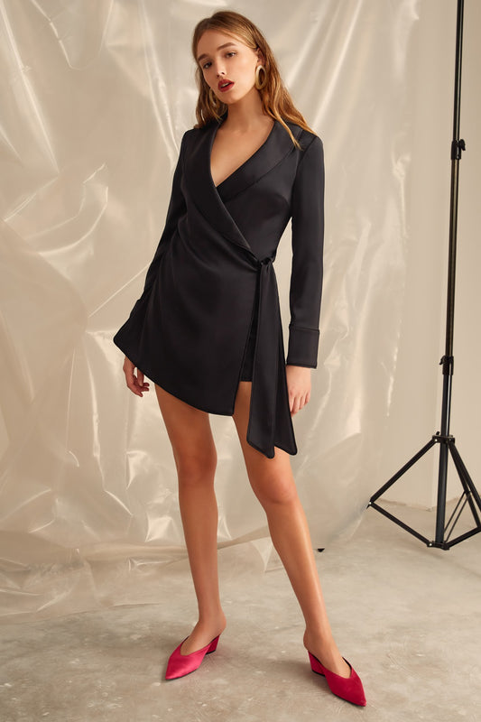SIMPLE THINGS PLAYSUIT black