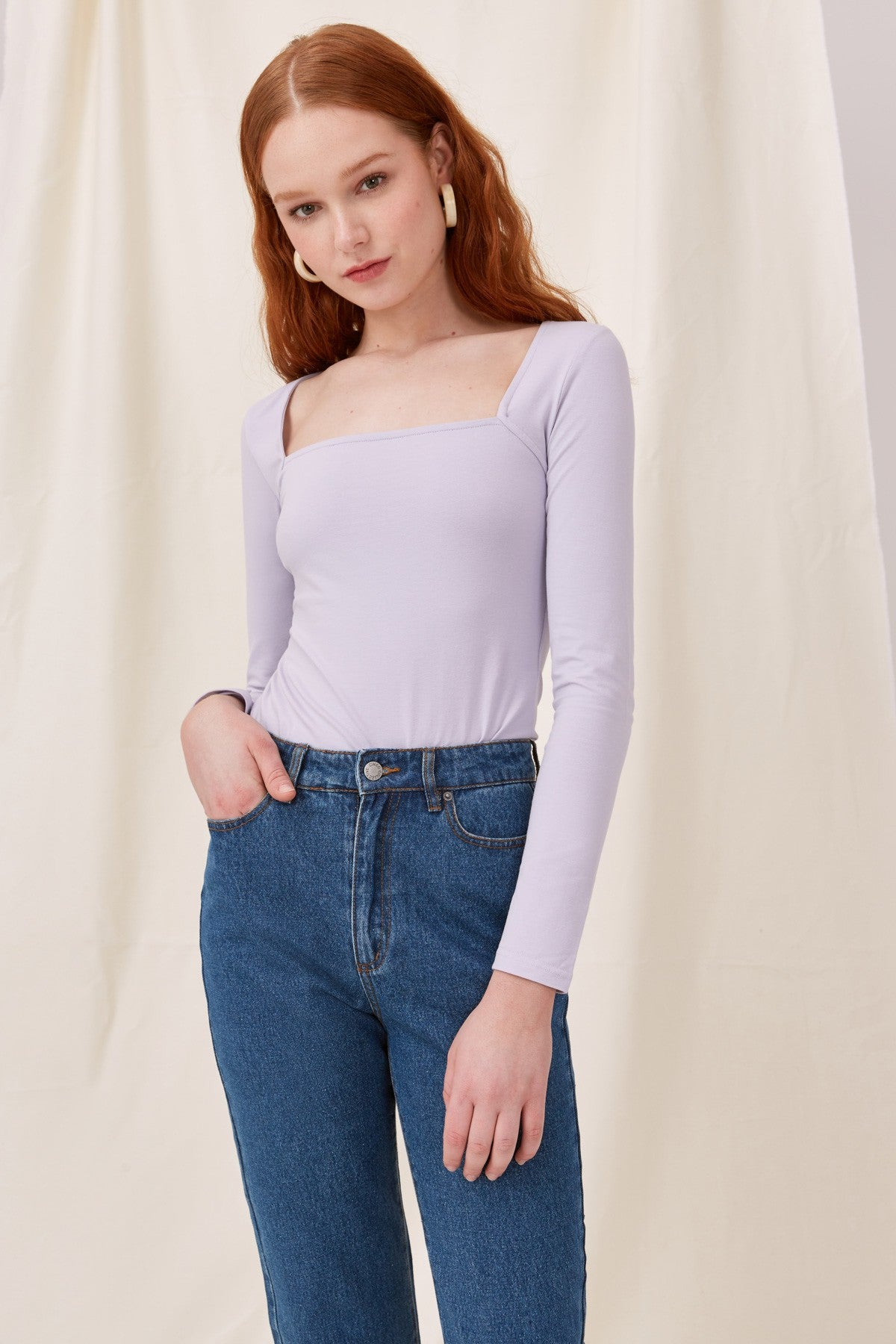 CLARITY TOP lilac