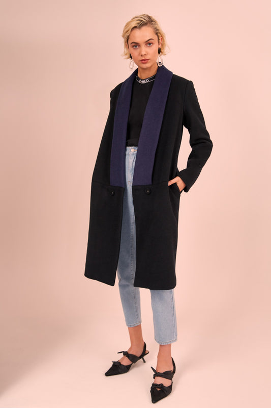 BREAKAWAY COAT black
