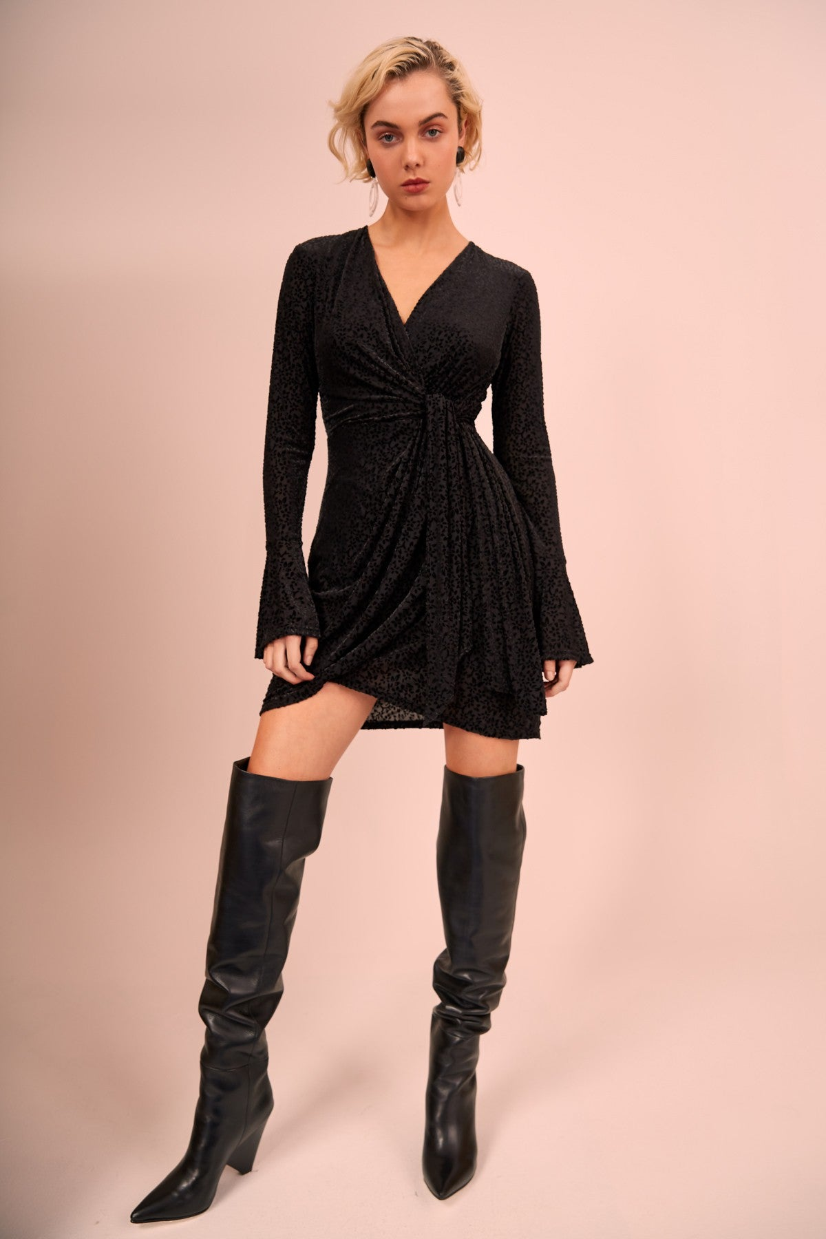 BREAKTHROUGH MINI DRESS black