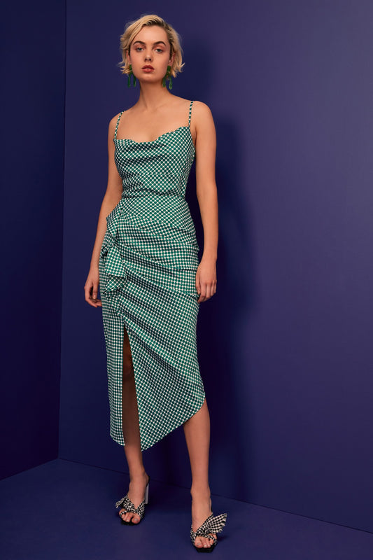 JAGGED SKIRT ivy spot