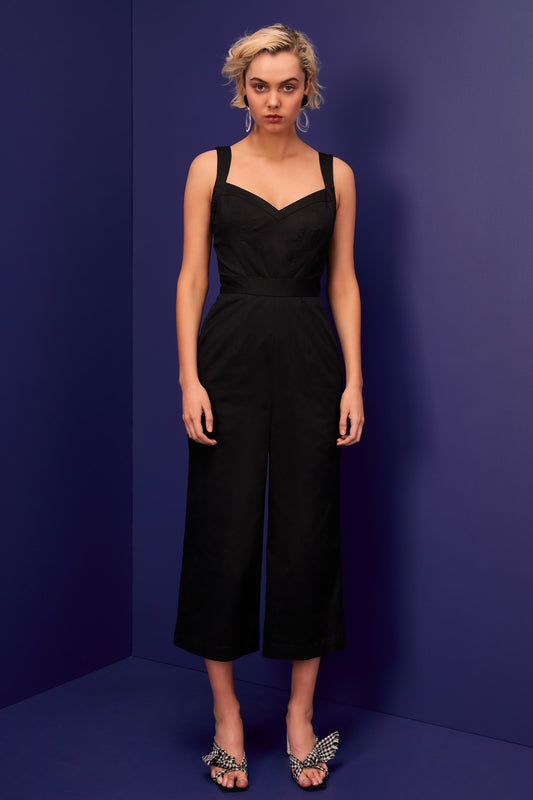 SILHOUETTE JUMPSUIT black