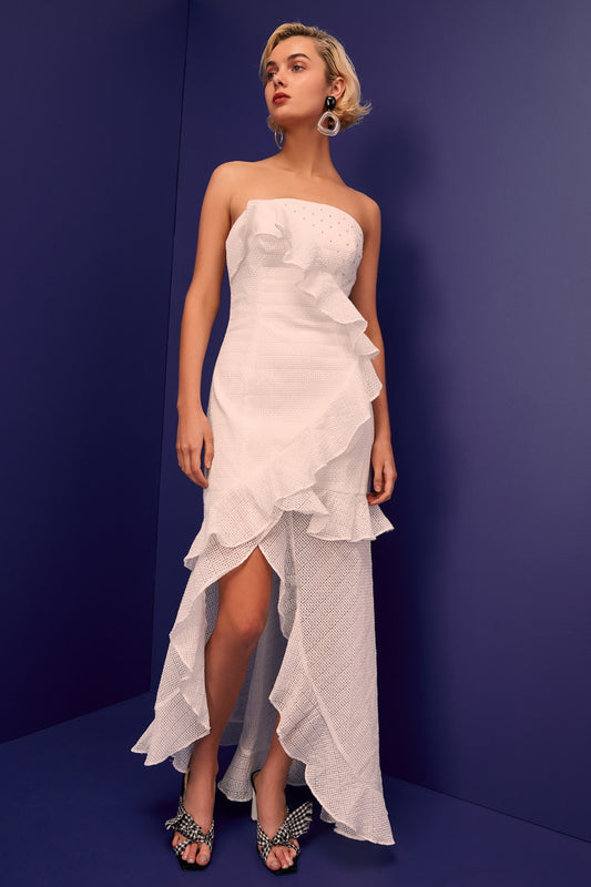 THINK ABOUT ME GOWN ivory
