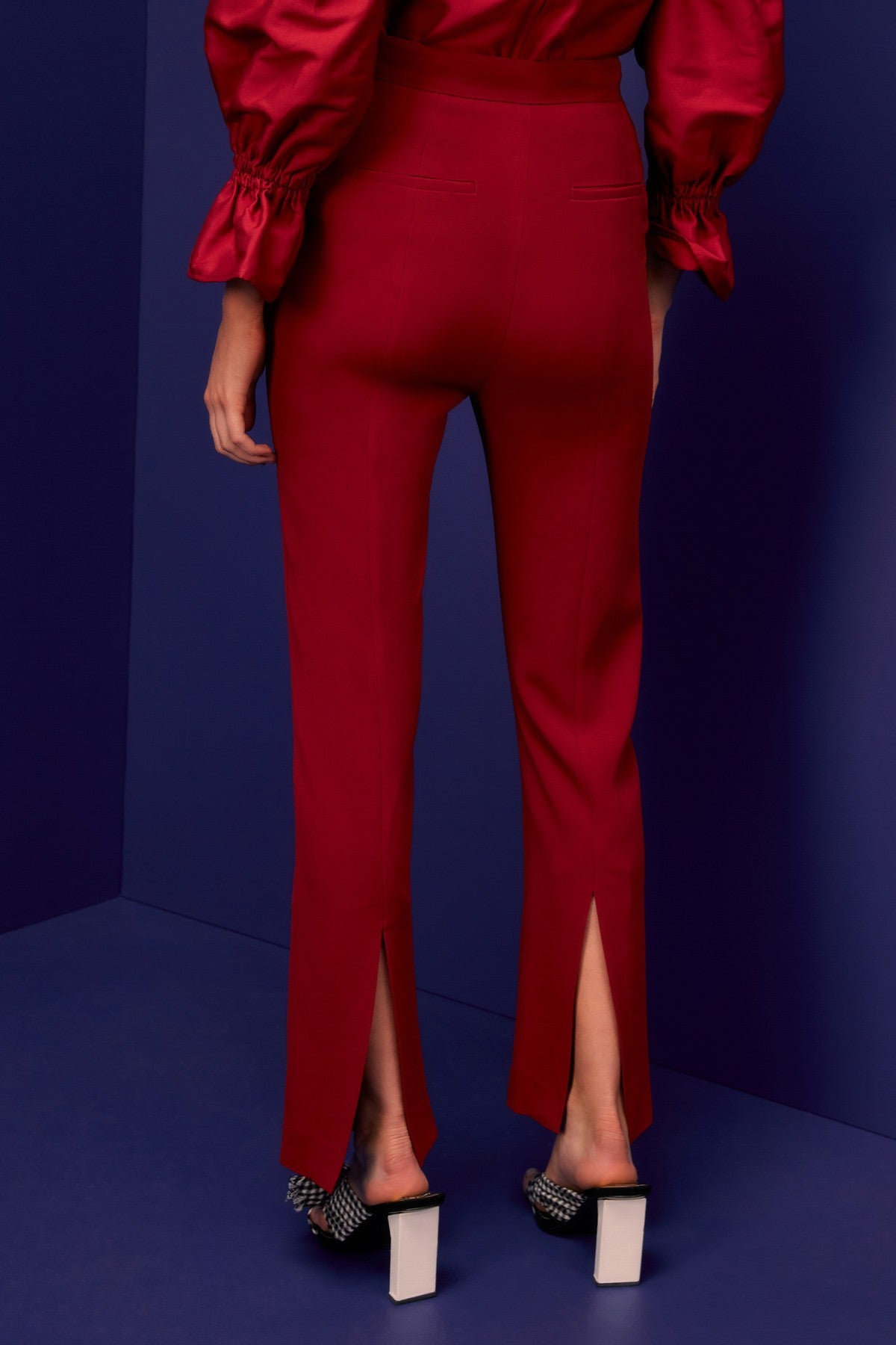 VISCERAL PANT berry