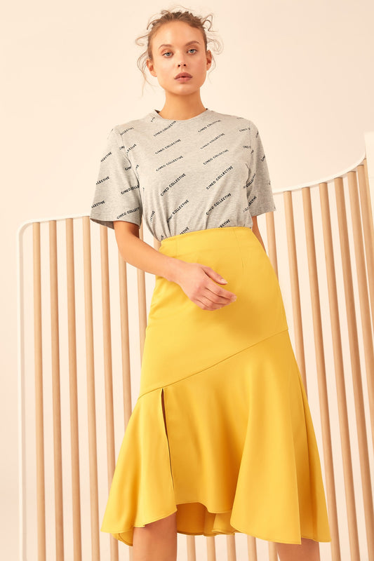 ALL RIGHT NOW SKIRT yellow