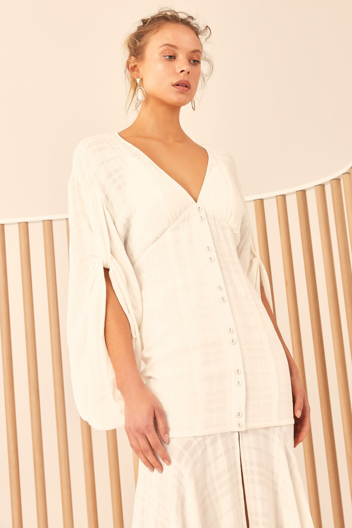 HEART BREAKER DRESS ivory