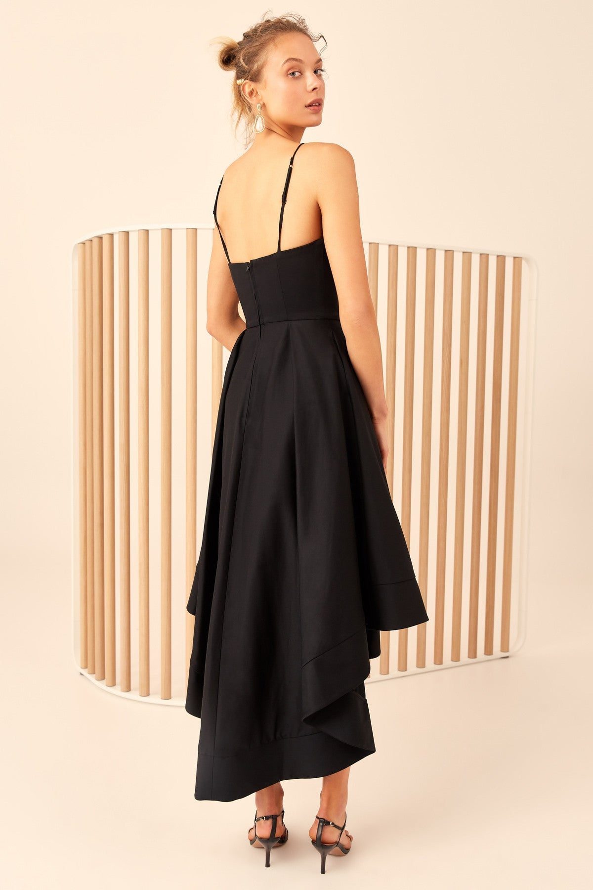 ONLY WITH YOU GOWN black