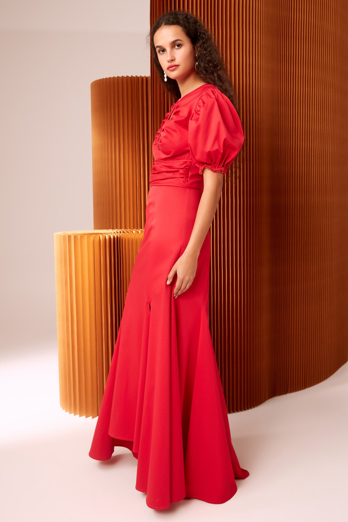DESIROUS GOWN red