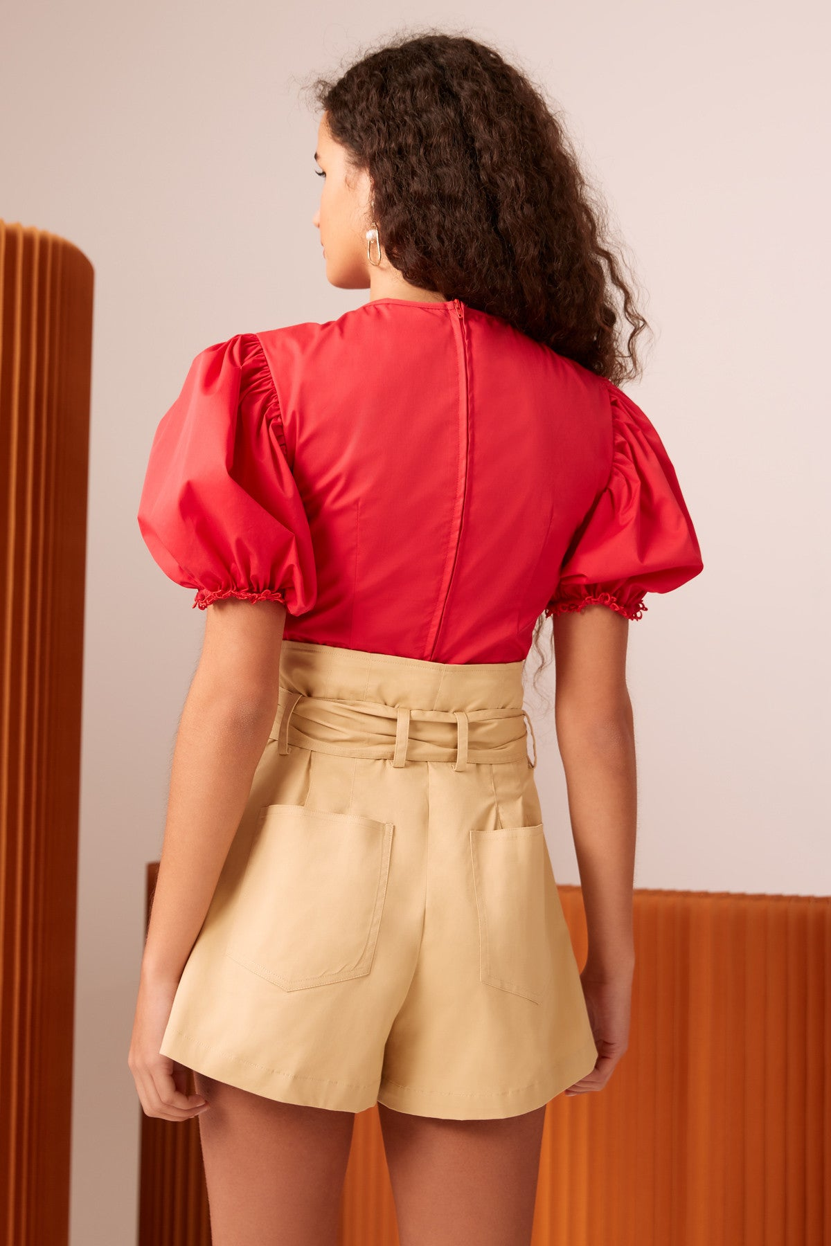 DESIROUS TOP red