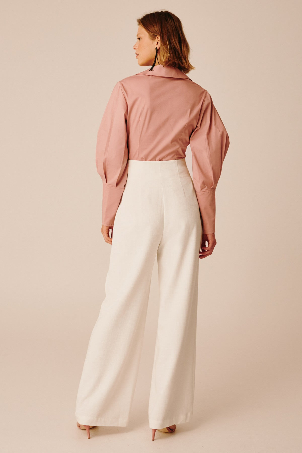 COLLISIONS PANT ivory