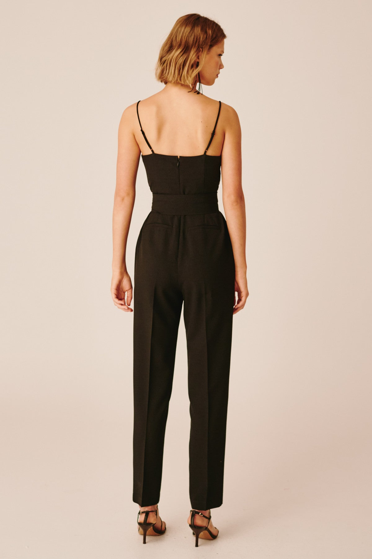 AS LONG AS JUMPSUIT black