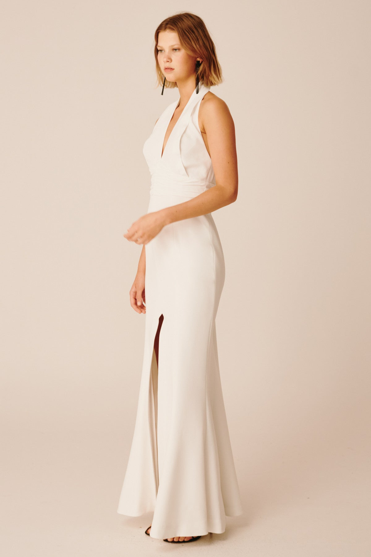 CONSONANT GOWN ivory