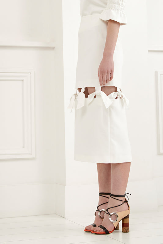 ETERNITY SKIRT ivory