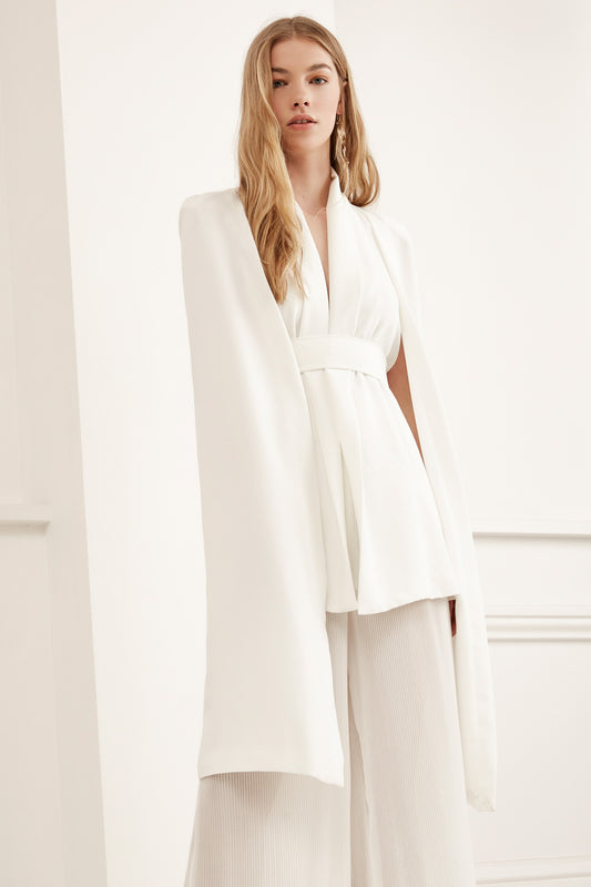LIMITLESS CAPE ivory