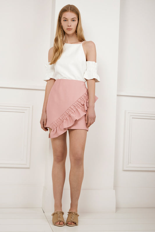 DOUBLE TAKE SKIRT musk