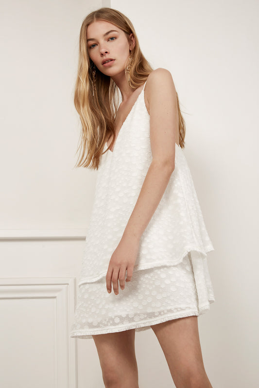 STATIC SPACE DRESS ivory