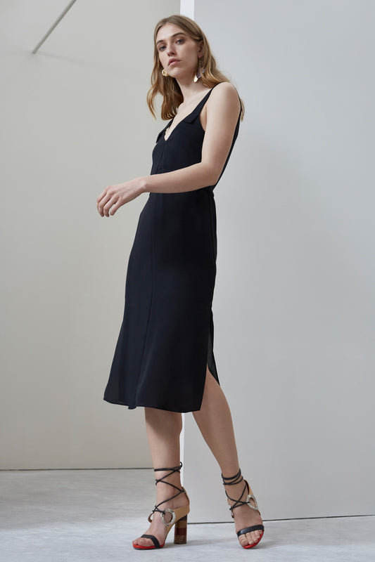 SECOND THOUGHT DRESS black