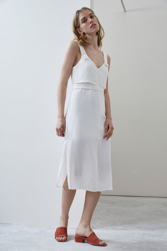 SECOND THOUGHT DRESS ivory