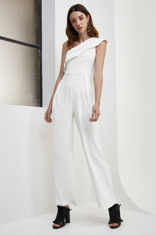 DON'T STOP JUMPSUIT ivory