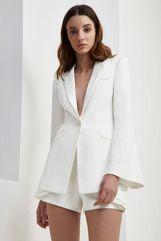 LONG GONE BLAZER ivory