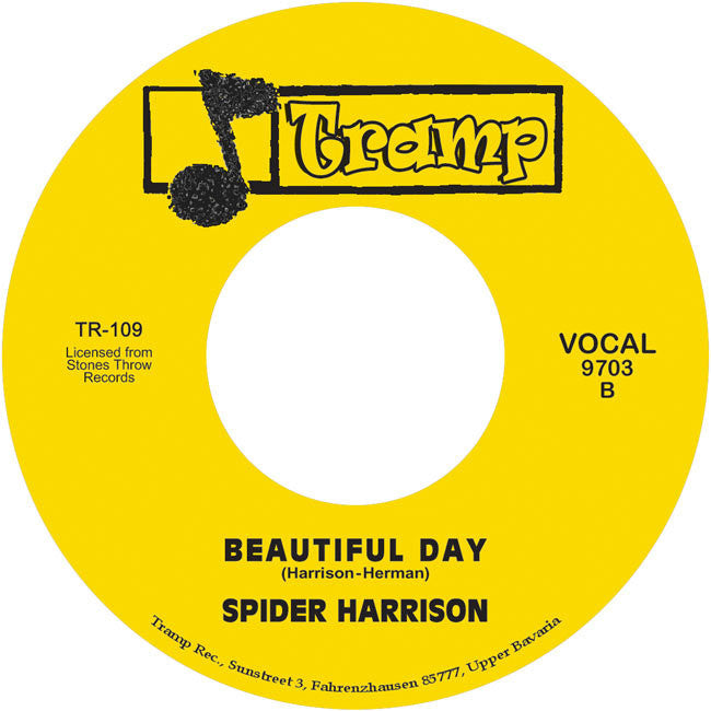 TR-109 Beautiful Day-Spider Harrison/The Kick The Rhythm Machine